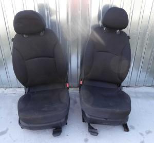 fotel, fotele przednie i kanapa tylna, komplet Fiat Stilo kombi