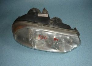 lampa przednia, reflektor Alfa Romeo 156 prawy, z silniczkiem do regulacji