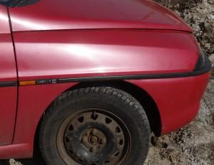 Listwa błotnika przednia prawa Lancia Ypsilon
