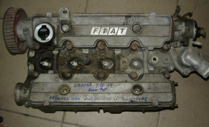 głowica kompletna wałki rozrzšdu Fiat Croma 2,0 IE