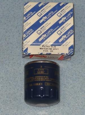 filtr oleju Fiat Ulysse, Ducato, Lancia Z 2,0 benzyna nr. kat. 9567205780