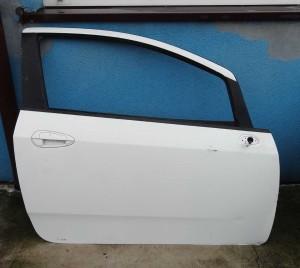 szyba drzwi Fiat Grande Punto Evo prawa wersja 3-drzwiowa