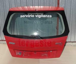 klapa tylna pokrywa bagażnika Fiat Stilo 3-drzwiowy kompletna