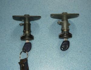 zamek bagażnika, wkładka z kluczykiem Fiat Seicento