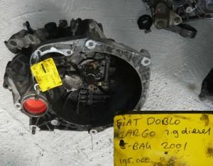Fiat Doblo 1,9 diesel skrzynia biegów
