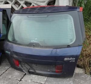 klapa tylna pokrywa bagażnika Fiat Stilo 5-drzwiowy z szybš
