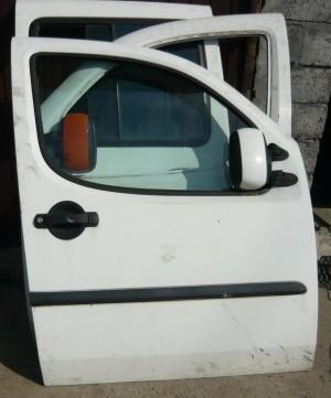 szyba do drzwi Fiat Doblo prawa przednia
