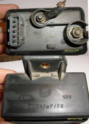 PrzekaĹşnik automat œwiec żarowych CCD47uP/F2 Fiat, Alfa Romeo, Lancia