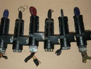 stacyjka + kluczyk Fiat Seicento