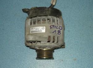 alternator Fiat Stilo 1,8 16V oryginalny 46543023 63321491 120A