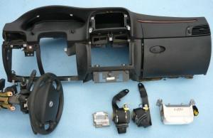 Lancia Lybra deska rozdzielcza poduszki kierownica pasy sensor airbag komplet