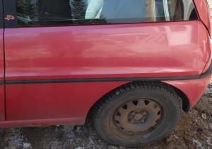 Listwa błotnika tylna lewa Lancia Ypsilon