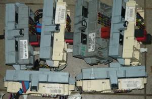 skrzynka bezpieczników + modół BSI komputer Fiat Punto 2 II