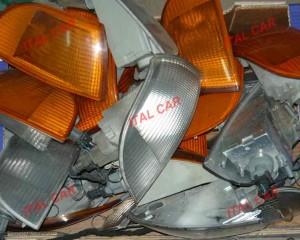 kierunkowskaz przedni Fiat Punto 1, lewy, pomarańczowy