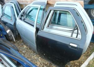 szyba trójkštna drzwi tylnych Lancia Kappa