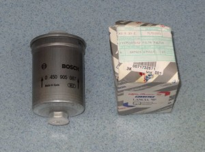 filtr paliwa ALFA ROMEO 164 GTV 2.0 2.5 3.0 LANCIA KAPPA nr. kat. 71732671 BOSCH 0450905087