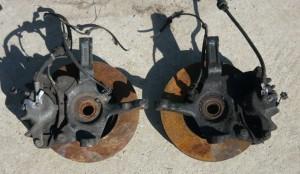 Zwrotnica z piasta Lancia Kappa JTD z ABS em